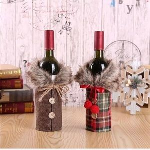 Other - Holiday Wine Bottle Covers 🍷